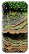 Tricolor Turkeytail IPhone Case