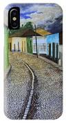 Trinidad Cuba Original Oil Painting 16x12in IPhone Case