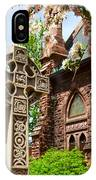 Trinity Church Garden  7d02024 IPhone Case