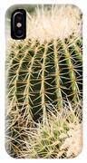 Triple Cactus IPhone Case