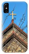 Triple Cross 4 IPhone Case