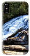 Triple Falls II IPhone Case