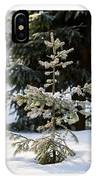 Triptych - Christmas Trees In The Forest - Featured 3 IPhone Case