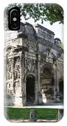 Triumphal Arch - Orange Provence IPhone Case