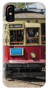 Trolley Car At The Fort Edmonton Park IPhone Case