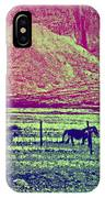 Now And Then You Dream Of The Old Fields Back Home  IPhone Case