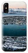Tromso From The Mountains IPhone Case