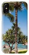 Tropical Beach. Mauritius IPhone Case