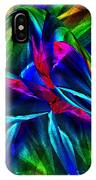 Tropical Bird Sits On A Tropical Tree IPhone Case