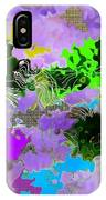 Tropical Fish Abstraction IPhone Case