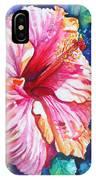 Tropical Hibiscus 4 IPhone Case