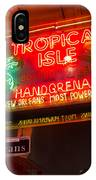 Tropical Isle Nola Style IPhone Case