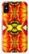Tropical Leaf Pattern 2 IPhone Case