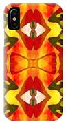 Tropical Leaf Pattern 7 IPhone Case