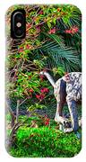 Tropical Mountain Lion IPhone Case