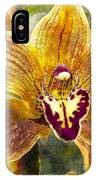 Tropical Orchid IPhone Case