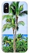 Tropical Palm Trees In Hawaii IPhone Case