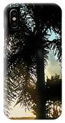 Tropical Silhouette IPhone Case