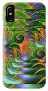 Tropical Swirls Layered IPhone Case