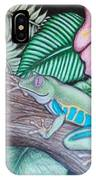 Tropical Tree Frog IPhone Case