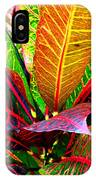 Tropicals Gone Wild Naturally IPhone Case