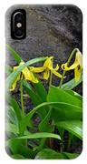 Trout Lily In The Woods IPhone Case