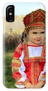 Russian Girl IPhone Case
