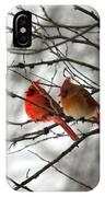 True Love Cardinal IPhone Case