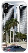 Trump Plaza In Downtown West Palm Beach Skyline IPhone Case