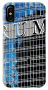 Trump Tower Marquee IPhone Case