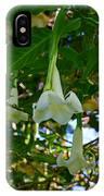 Trumpet Flower IPhone Case