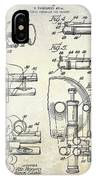 Trumpet Patent Drawing IPhone Case