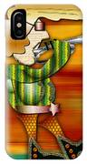 Trumpet Player IPhone Case