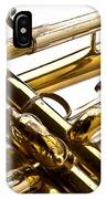 Trumpet Valves IPhone Case