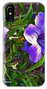 Trumpet Vine In Apache Junction-arizona   IPhone Case