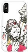 Tsar And Courtiers IPhone Case
