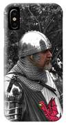 Tudor Knight In Armor  V1 IPhone Case