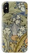 Tudor Roses Thistles And Shamrock IPhone Case