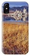 Tufa And Frozen Grass-h IPhone Case