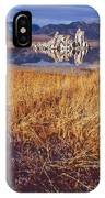 Tufa And Frozen Grass-sq IPhone Case