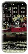 Tug At Dock IPhone Case