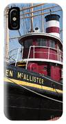 Tugboat Helen Mcallister IPhone Case