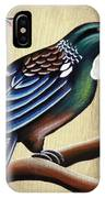 Tui And Cherry Blossom IPhone Case