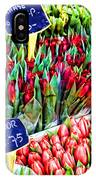 Tulips Tulips Tulips By Diana Sainz IPhone Case