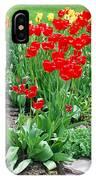 Tulip Gardenscape IPhone Case