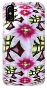Tulip Kaleidoscope Under Glass IPhone Case