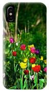 Tulip Rainbow IPhone Case