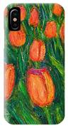 Tulip Twirl IPhone Case