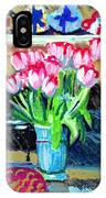 Tulips And Valentines IPhone Case