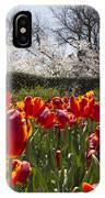 Tulips At Dallas Arboretum V39 IPhone Case
